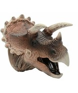 Triceratops Dinosaur Realistic Soft Plastic Hand Puppet Toy for Kids - $14.84