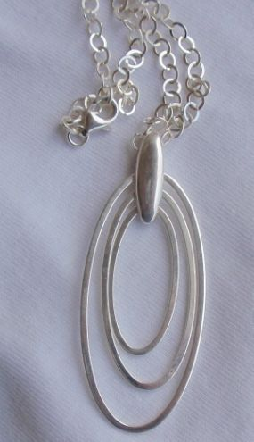3rings necklace