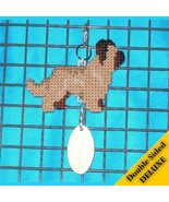 Briard Deluxe crate tag double sided, hang anyw... - $29.00