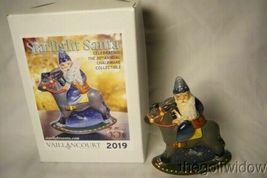 Vaillancourt Folk Art 30th Ann Starlight  Rocking Santa personally signed  Judi image 7
