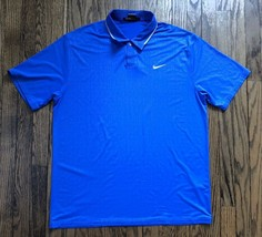 Nike Tiger Woods Collection Mens Dri Fit Short Sleeve Golf Polo Shirt Size Large - $30.88