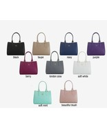 JOY E*Lite Couture Genuine Leather Satchel with RFID - $49.99