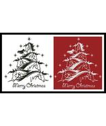 Horse Christmas Tree #13434 cross stitch chart Artecy Cross Stitch Chart - $7.20