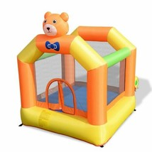 Durable Inflatable Little Bear Bounce House Jumper (Blower Not Included) - $150.99