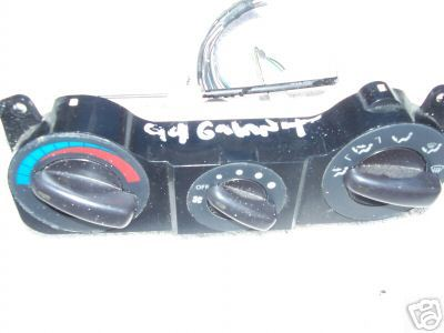 1994-1997 GALANT MANUAL TEMPERATURE CONTROL MODULE