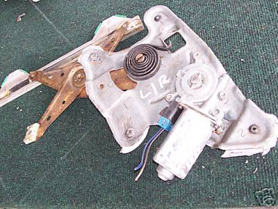 1995-2001 Lumina Car Left Rear Window Reg & Motor