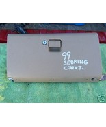 1996-2000 SEBRING CONVERTIBLE GLOVE BOX WITH LATCH - $18.30