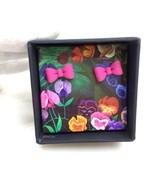 Disney Marc by Marc Jacobs Alice Earrings M0007998 Rose Piercing Ditzy Flower - $121.77