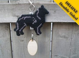 Belgian Sheepdog Deluxe crate tag 2 sided, hang... - $24.00