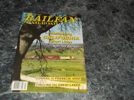 Railfan & Railroad Magazine July 1998 - $2.96