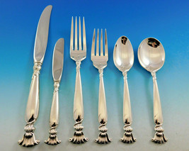 Romance of the Sea by Wallace Sterling Silver Flatware Set Service 79 Pieces - $4,750.00