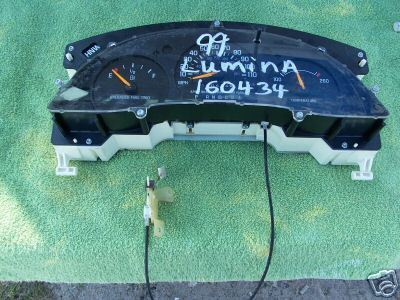 1997-1999 LUMINA CAR SPEEDOMETER CLUSTER
