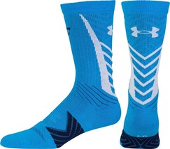 UNDER ARMOUR SC30 Undeniable Crew Socks Large (9-12.5) Curry One Edition... - $19.99