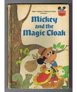 ORIGINAL Vintage 1975 Mickey Mouse and the Magic Cloak Disney Hardcover ... - $13.99