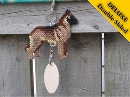 Belgian Malinois Deluxe crate tag 2 sided, hang anywhere show dog agilit... - $23.00
