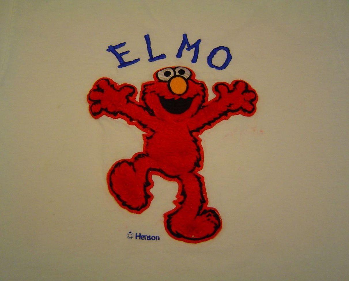 Vintage Elmo T-Shirt  Blitzz Sesame Street Henson CTW Large L