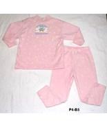 SPUMONI Size 4 Pink 2 pc  Sweatpants and Sweatshirt Made in USA - $9.99