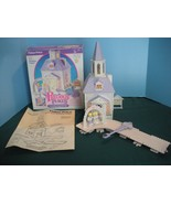 Vintage Fisher Price Precious Places #5151 Silver Bells Wedding Chapel MIB! - $55.00