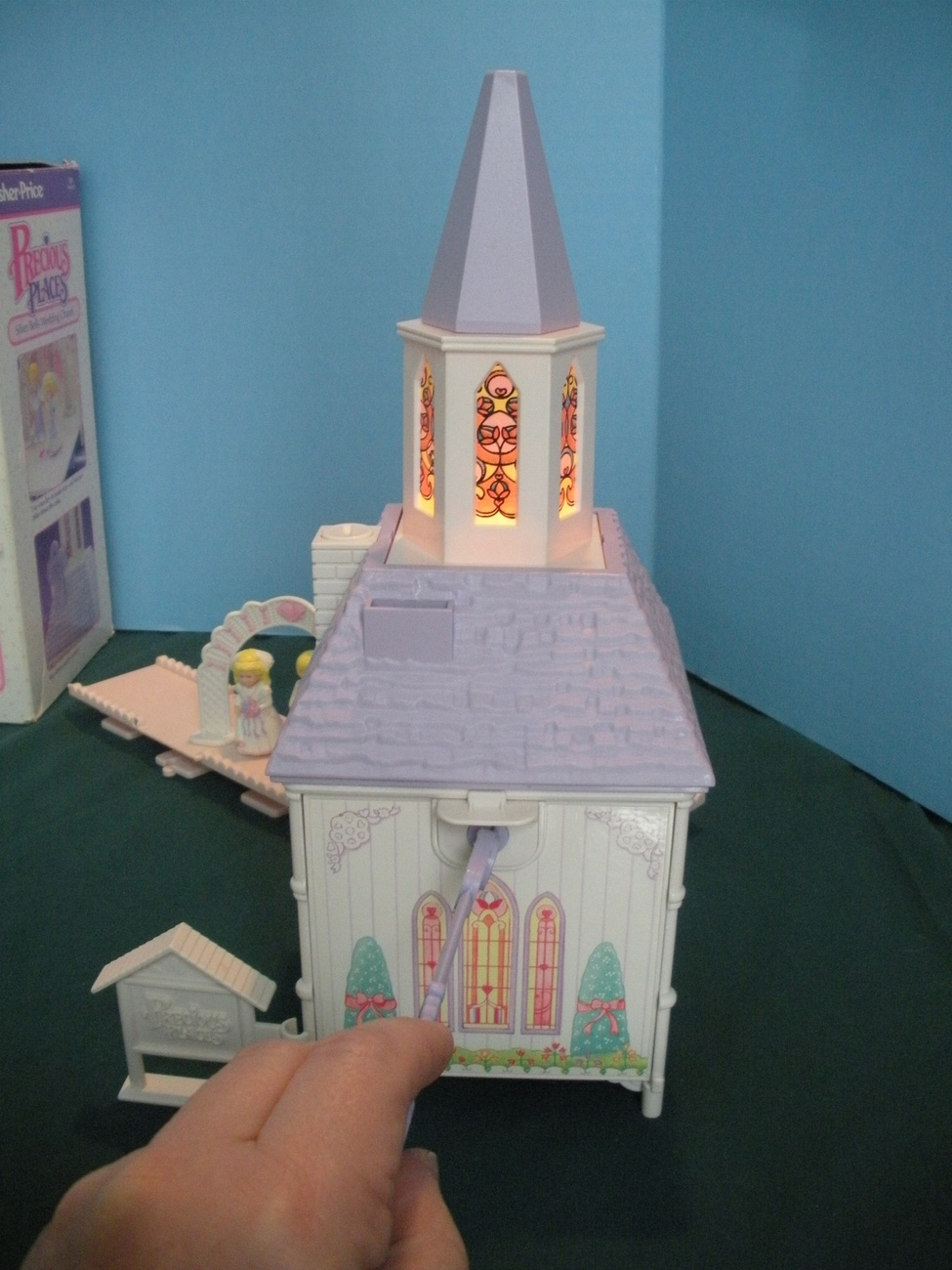 Vintage Fisher Price Precious Places #5151 Silver Bells Wedding Chapel MIB!