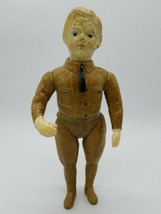 Antique WWI Ideal Liberty Doughboy Composition Soldier Doll Jointed Arms... - $118.68