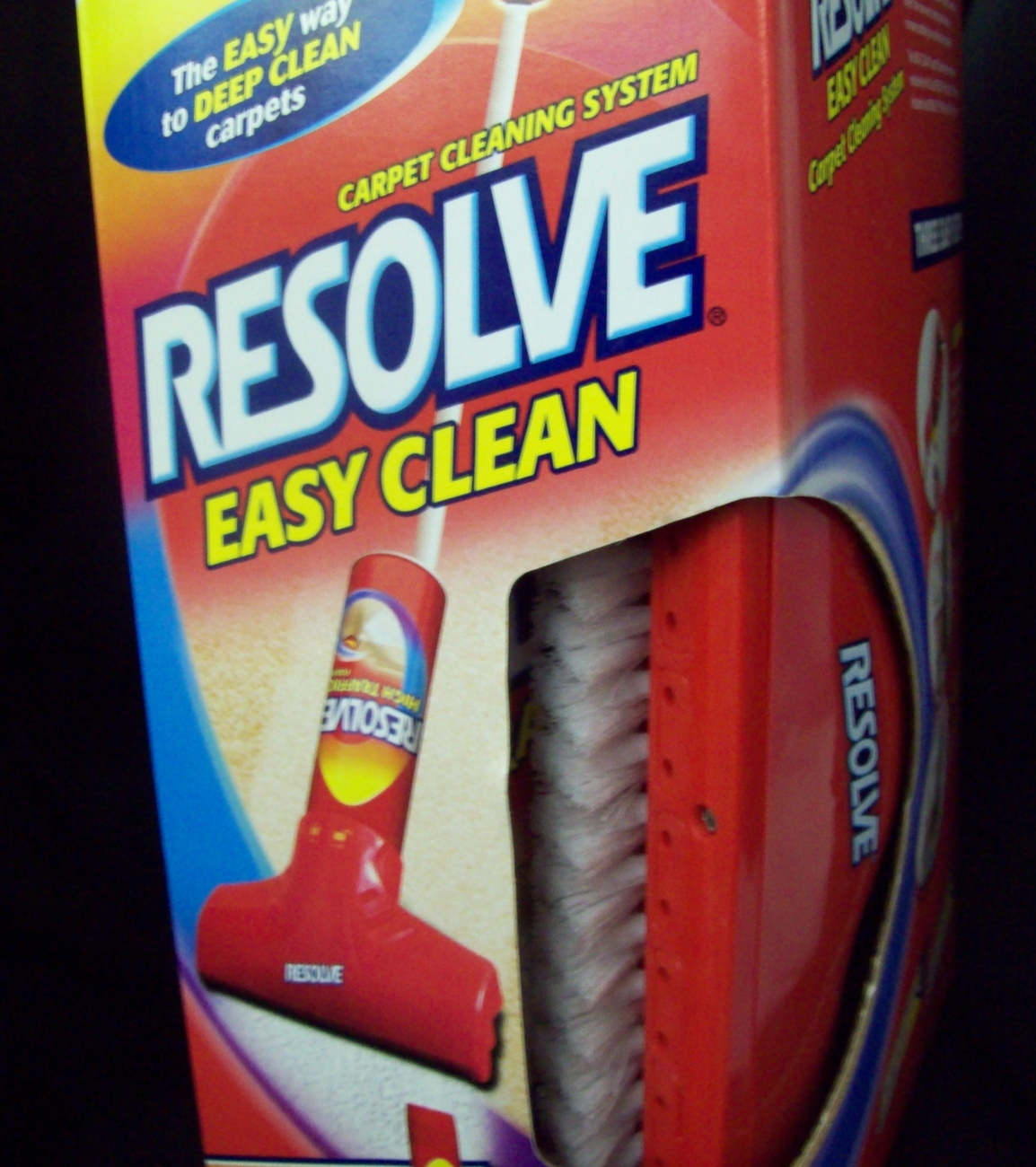 RESOLVE Easy Clean Carpet Cleaning System NIB Rugs