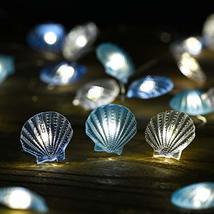 Nautical Beach Decor led String Lights Under The sea Coastal Ocean Theme Navy Fi image 3
