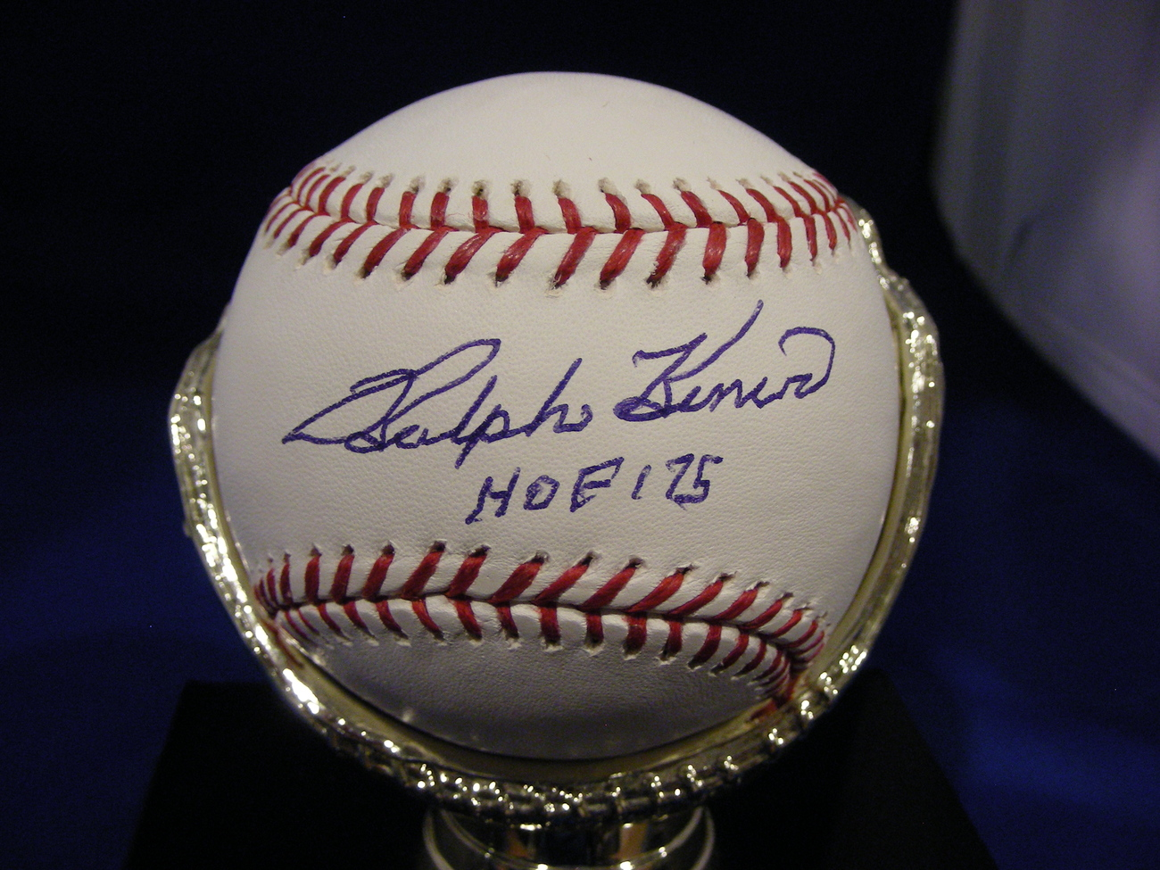 RALPH KINER HALL OF FAME 1975 PIRATES METS SIGNED AUTO BASEBALL PSA/DNA - $119.99