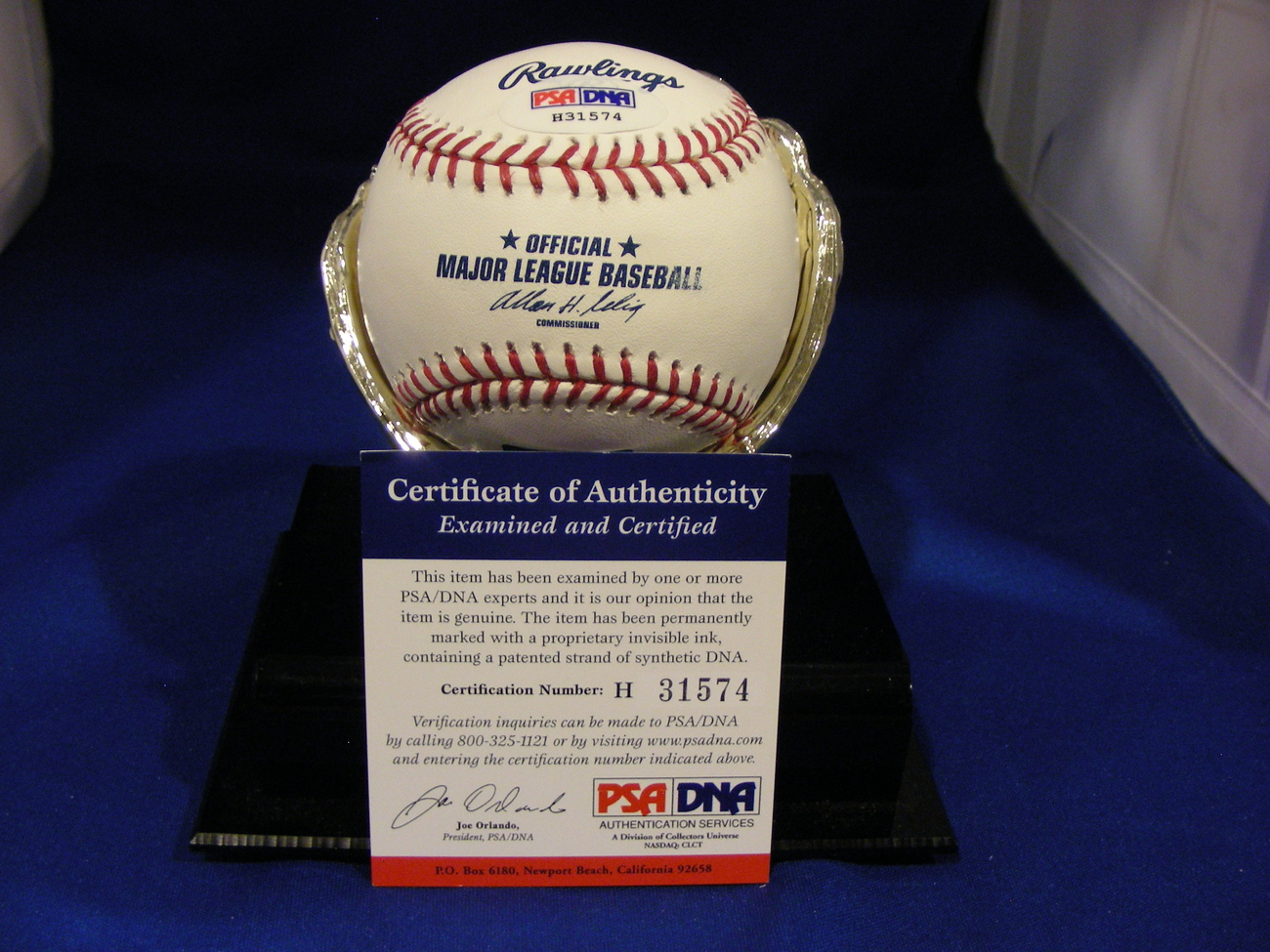 RALPH KINER HALL OF FAME 1975 PIRATES METS SIGNED AUTO BASEBALL PSA/DNA