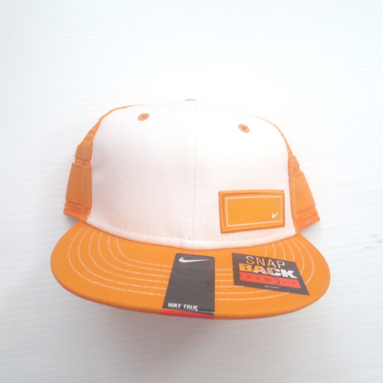 Nike Youth Tracker Mesh Snapback Cap Hat - 816712 - Orange 868 - One Size - NWT