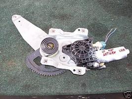 2000-2005 saturn left rear regulator and motor - $32.03