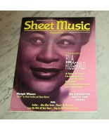 Sheet Music Magazine Ella Fitzgerald Sept/Oct 1996 - $4.95
