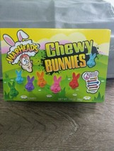 Warheads Chewy Bunnies 6 Fruity Flavors Easter Theater Box Candy 3.5 OZ NEW  - $7.80
