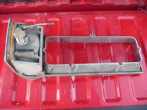 79-87 grandmarquis right side headlight door w/ corner