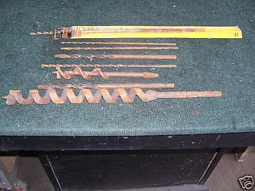 8 miscellaneous drill bits all one price