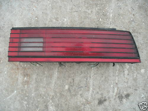 82-85 firebird plain lens right side taillight assembly