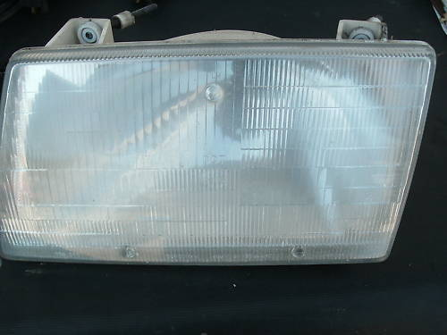 86-88 audi 5000 left side headlight assembly
