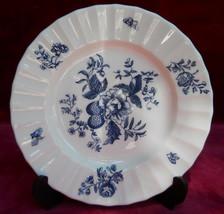Royal Worcester Blue Sprays Bread Plate S Floral - $9.88