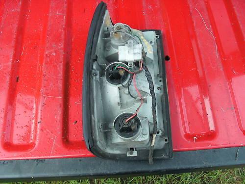 86-93 mazda truck right (passenger) taillight assembly