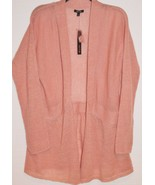 Apt 9 Womens Rose Dawn Open Front Fly Away Lightweight Sweater Cover L L... - $29.99
