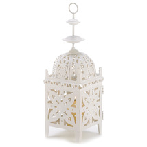 Medallion Candle Lantern - $18.00
