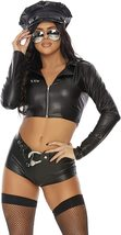 Women's Forplay Under Investigation Sexy Police  3 Piece Uniform