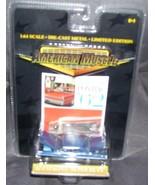 American Muscle Wide-Track Pontiac '62 Catalina Super Duty BLUE 1:64 Die... - $12.96