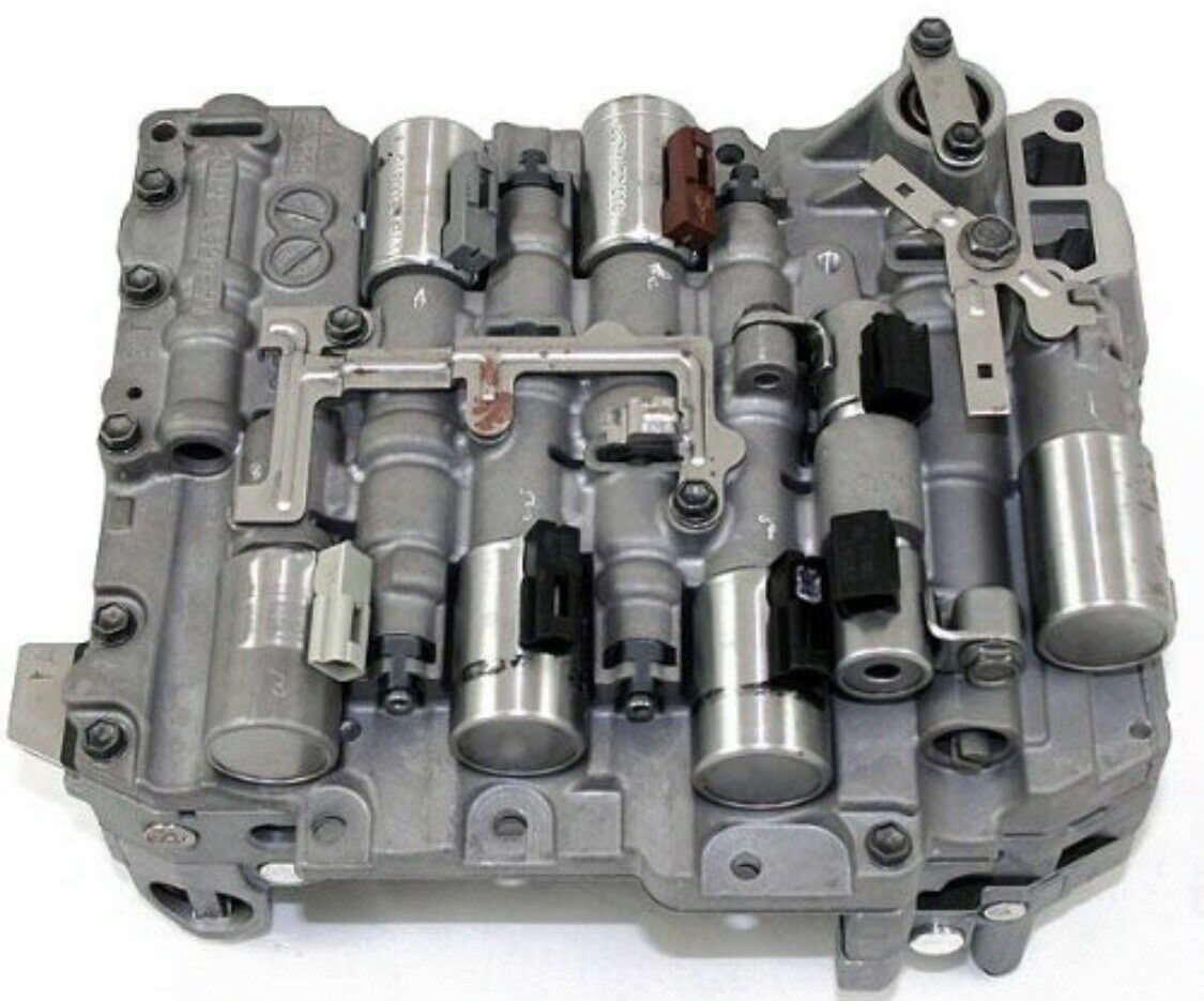 TF80sc-AF21B-AW6A-EL VOLVO 8cylinder VALVE BODY WITH ALL SOLENOIDS