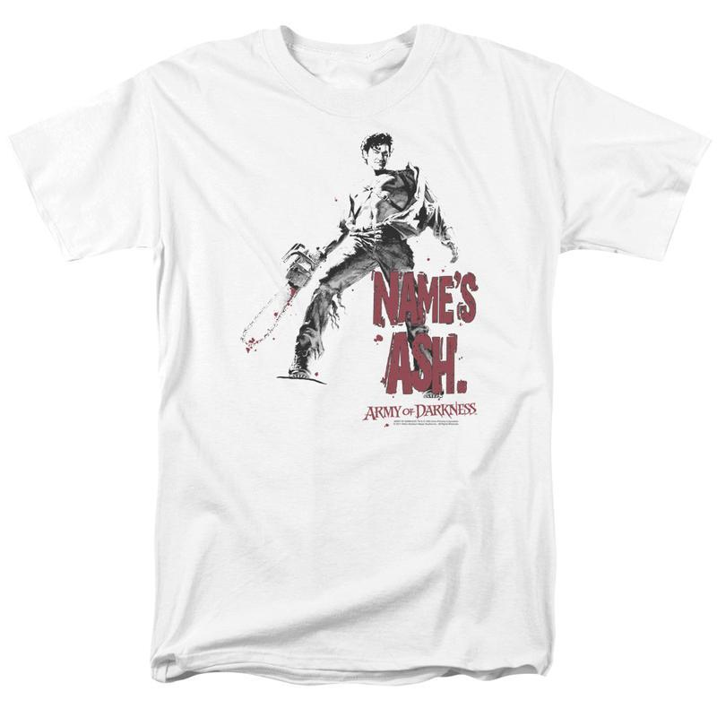 D ash vs evil dead ash williams retro horror movie graphic tee for sales online tshirt mgm104 at