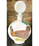 1969 Jim Beam Whiskey Decanter Edition No 3 Field Birds Prairie Chicken - $19.99