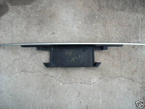 88-91 camry tail panel section deck lid mounted