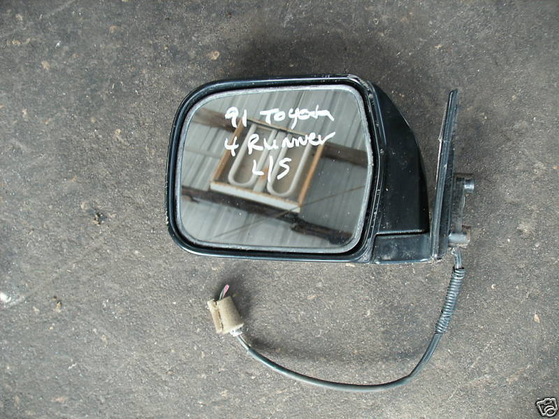 Primary image for 90-91 TOYOTA 4 RUNNER LEFT FRONT POWER MIRROR