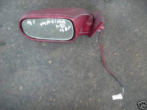 91-94 maxima left side power mirror non heated