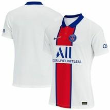 Nike PSG Paris Saint-Germain Vaporknit Match Away 2020-21 Jersey CD4188-101 - $69.99