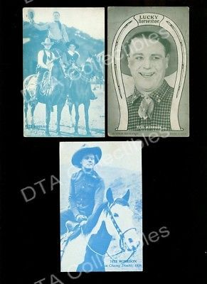 Primary image for PETE MORRISON-ARCADE CARD LOT-CHASING TROUBLE-1926 FR/G